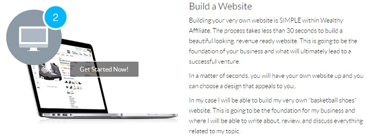 Wealthy Affiliate Step 2