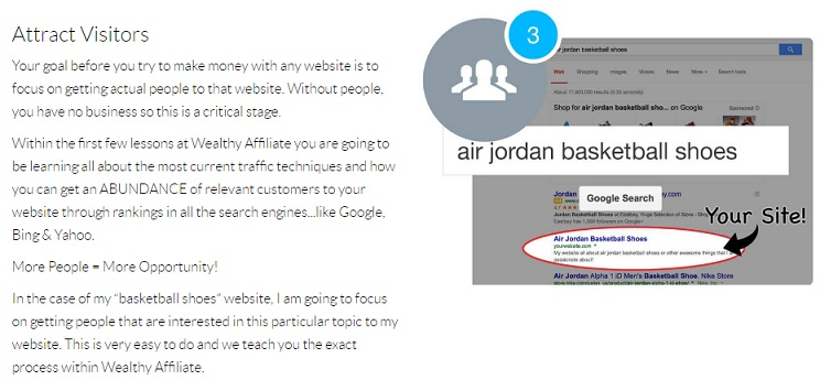 Wealthy Affiliate Step 3